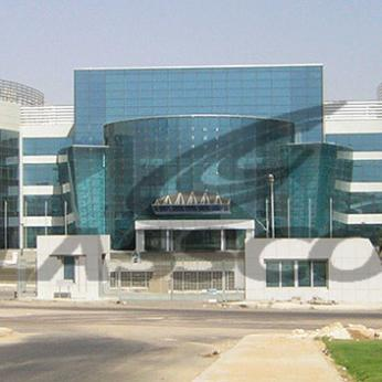 Spider Glass Curved Curtain Wall on MERO SPACE FRAME 3D TRUSS Glasscon 02.jpg
