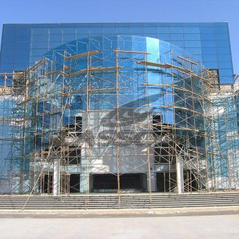 Spider Glass Curved Curtain Wall on MERO SPACE FRAME 3D TRUSS Glasscon 03.jpg