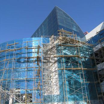 Spider Glass Curved Curtain Wall on MERO SPACE FRAME 3D TRUSS Glasscon 05.jpg